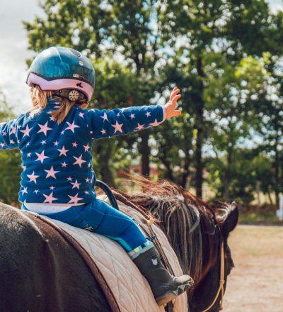 Flicka-häst